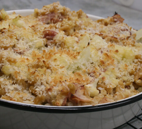 Mac and Cheese met bloemkool